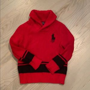 Polo Ralph Lauren chunky boys sweater